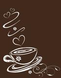 Fototapety Kaffee, Cafe, Kaffeetasse, Blumen, floral, Liebe