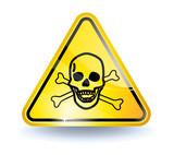 Poison sign poster