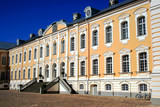 Rundale Palace is monuments Baroque and Rococo art in Latvia. poster