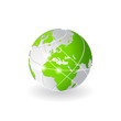 earth networking icon