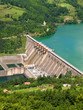 canvas print picture - hydroelectric power station