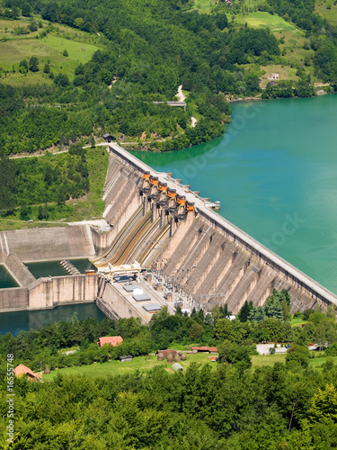 Aluminium Dam hydroelectric power station