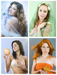seasons collage