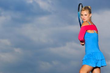 tenis girl