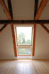 Dachgeschoss Fenster