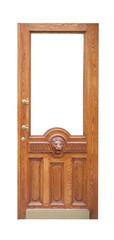 decor vintage wooden door