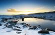 Peaceful Winter Brook