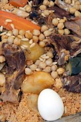 Cous Cous Tunisino con Uova Carne e Verdure