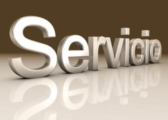 Service Metal maron