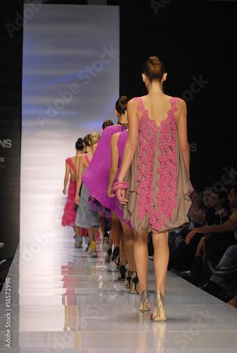 Models on a catwalk - 16572998