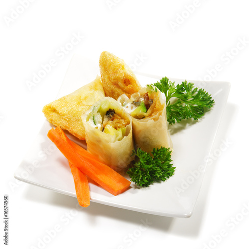 Japanese cuisine fish appetizers from boris ryzhkov for Asian cuisine appetizers