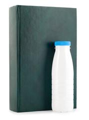 book milk bottle