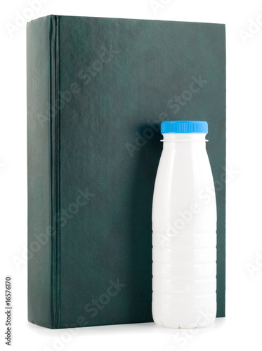 book milk bottle