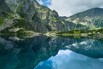 góry, Tatry, Czarny Staw pod Rysami