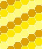 Hexagon tiles. Seamless vector pattern poster
