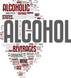 Alcohol tag cloud