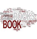 Fototapety Book word cloud