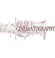 Cinematography tag cloud