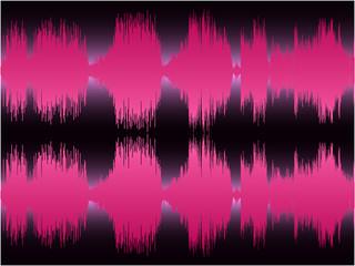 pink waveform