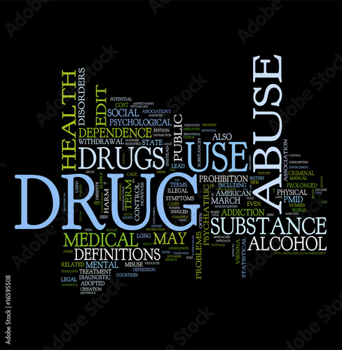 Drugs word clouds