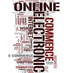 E-Business word cloud