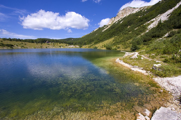 Satorsko lake - in the western regions of Bosnia