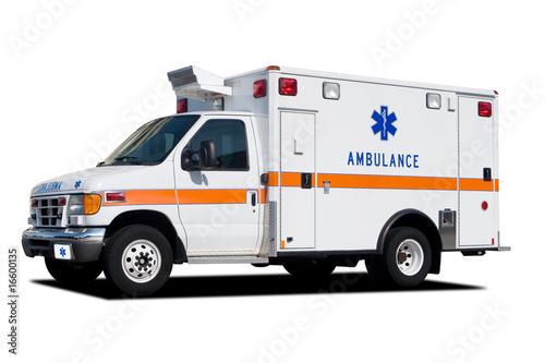 canvas print picture Ambulance