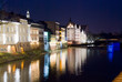 Opole in the night