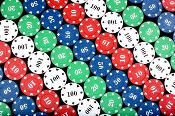 Casino Counters Background