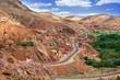 village among Moroccan hills
