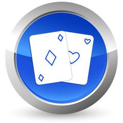Spielkarten - Button