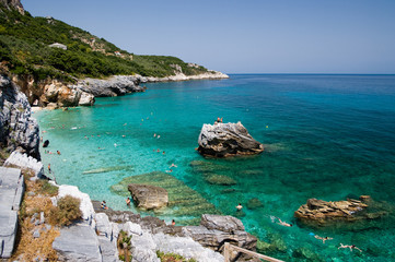 beach of Mylopotamos (horizontal