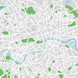 Fototapety vector map of London.