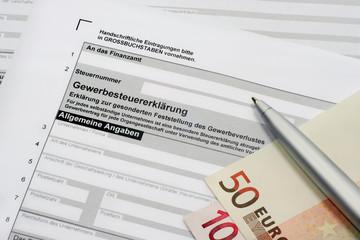 Gewerbesteuererklärung
