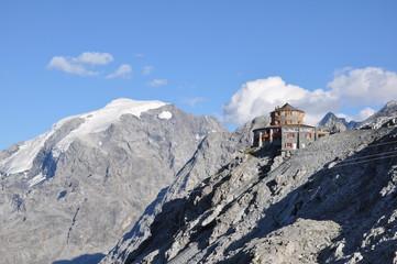 Ortler Gletscher Tibethütte