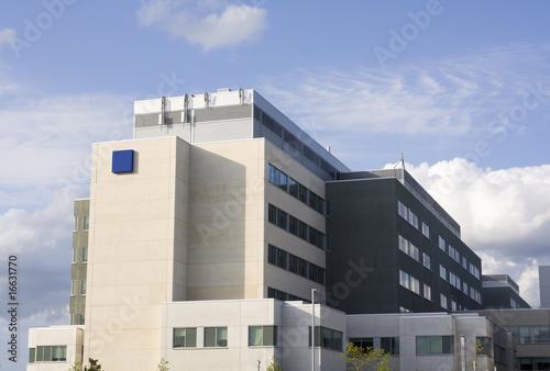 Modern hospital building - 16631770
