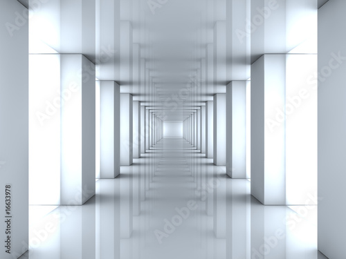 lustrzany-tunel-swiatla-3d
