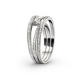 White gold ring with white diamonds_2