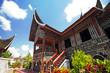Rumah Gadang or Big house architecture in Padang, West Sumatra - 16641108