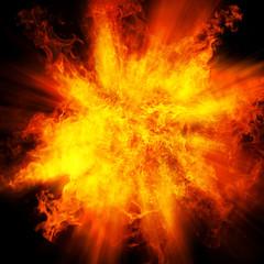 爆発イメージ