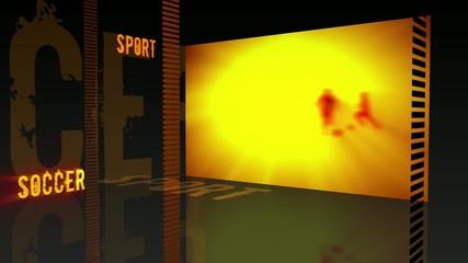 Sport theme - Soccer