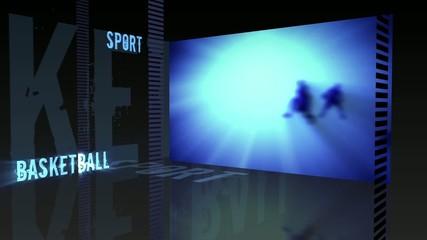 Sport theme - Basketball