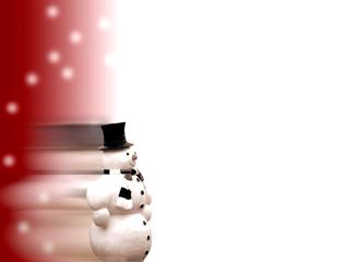 kommender Schneemann