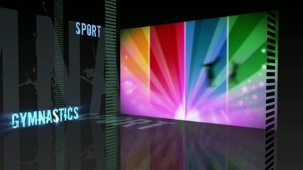 Sport theme - Gymnastics