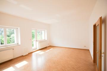 Wohnzimmer einer leeren Loft