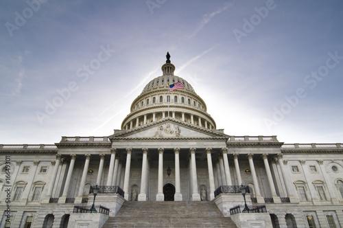Leinwandbild Motiv United States Capitol Building