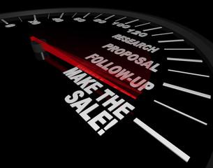 Speedometer - Make the Sale