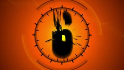 Countdown orange