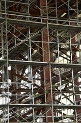 建築物の足場