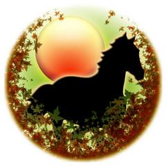 Cavallo d'Autunno-Autumn Horse-Cheval d'Automne